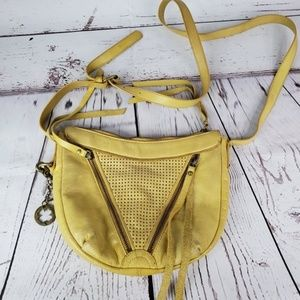 Lucky Brand Yellow Crossbody Purse